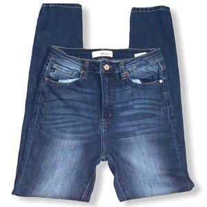 KanCan High Wasted  Dark Denim Jeans Size 9